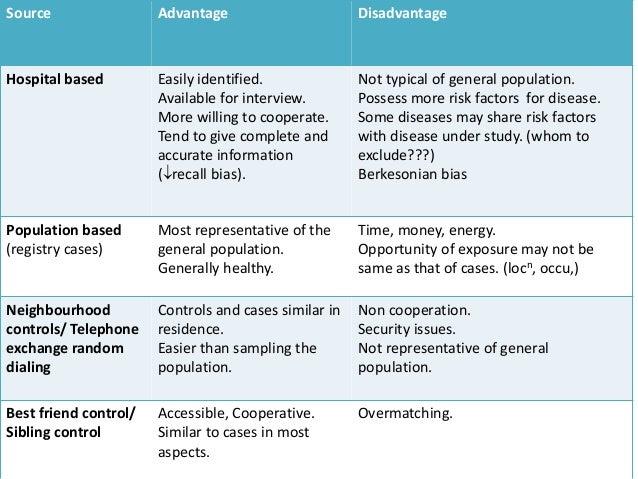 case control study advantages