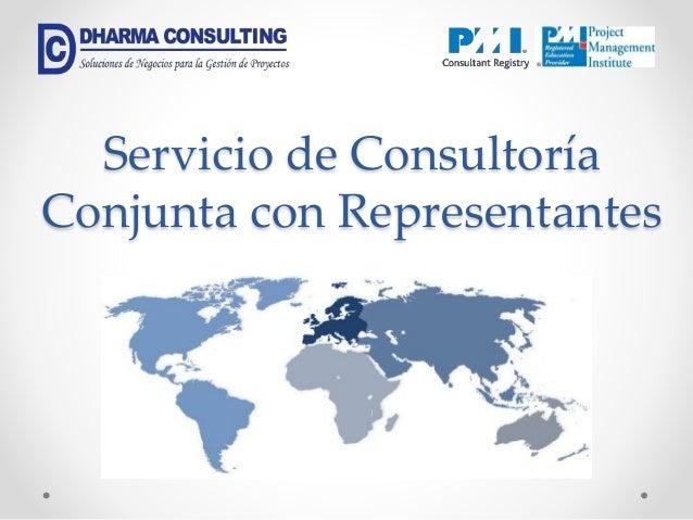 Servicio de Consultoría Conjunta con Representantes