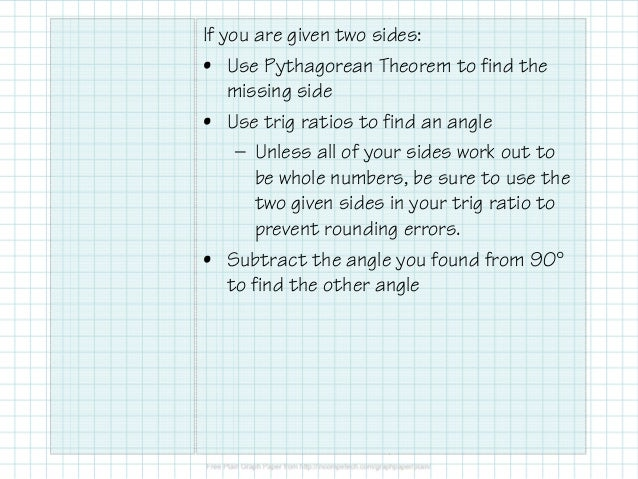 4.11.5 Solving Right Triangles