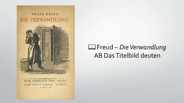 📖 Freud – DieVerwandlung AB DasTitelbild deuten