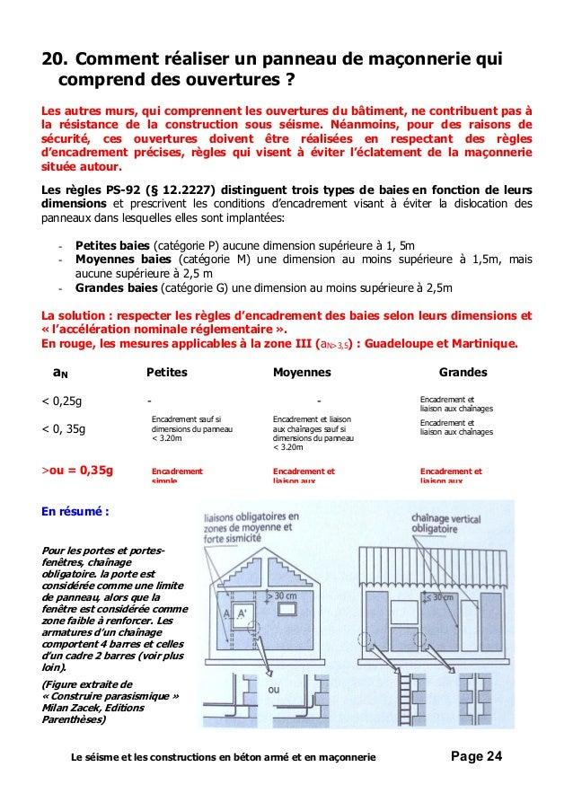 4 le seisme et les constructions en beton arme et en maconnerie. Black Bedroom Furniture Sets. Home Design Ideas