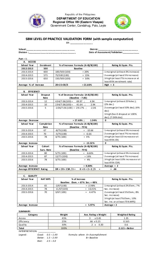 4. final sbm scoring template