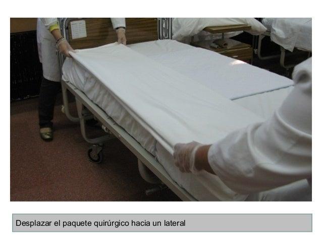 4 la cama quirurgica