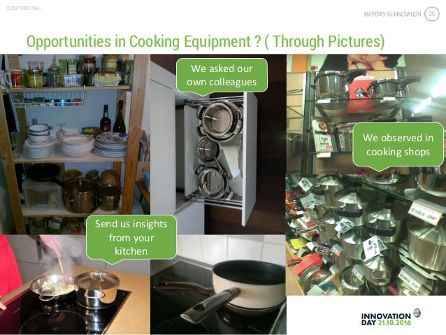 4.3 Get the right customer insights & validation CONFIDENTIAL 25 Opportunities in Cooking Equipment ? ( Through Pictures) ...