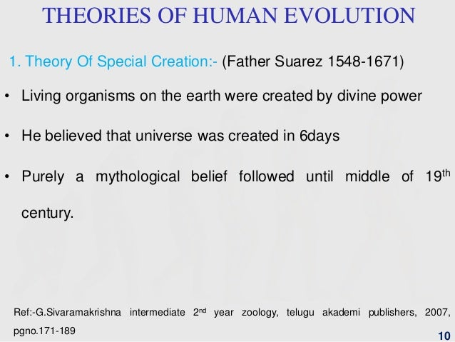 precursors to the theory of evolution Was the theory of evolution and scientific racism a major cause of world war ii  a precursor to nazism  not the theory of evolution itself, but a .