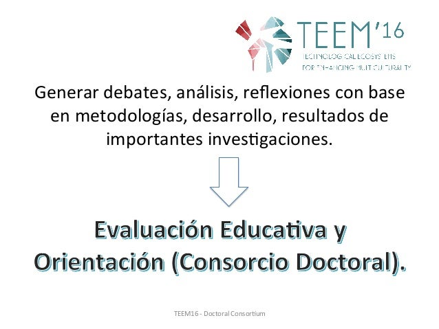 Research line: Education assessment and orientation Slide 2