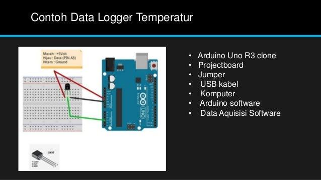 Arduino data logging soni