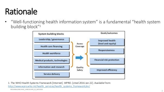 Strengthening Routine Health Information Systems through Regionalizing Networks: Asia -- Global Symposium on Health Systems Research Slide 3