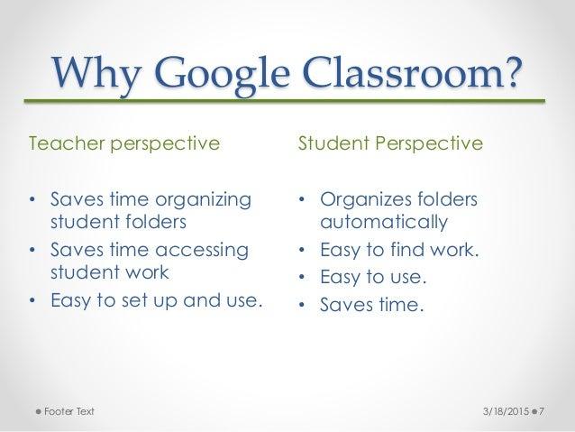 How Google Classroom Transformed an Elementary Classroom