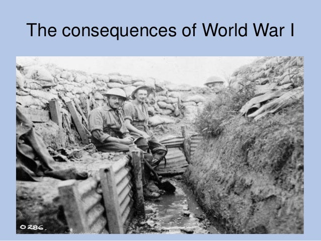 4  Consequences of WW 1