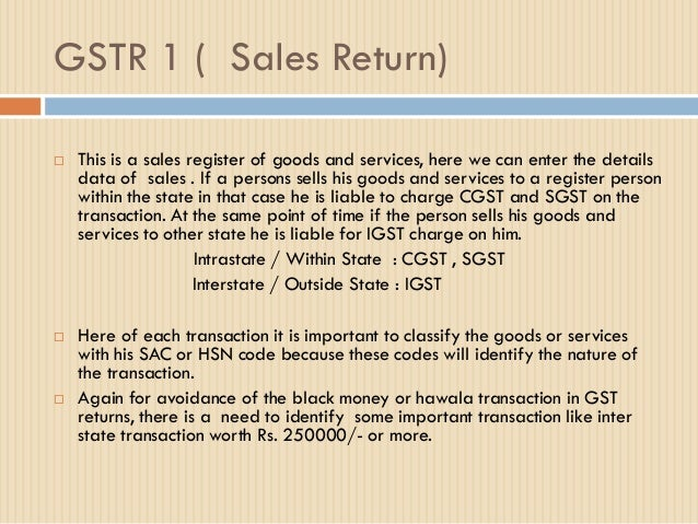 GST Return Overview by CA Shital Thadeshwar