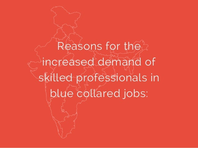 Skill can take you places, even in the blue collared jobs Slide 2
