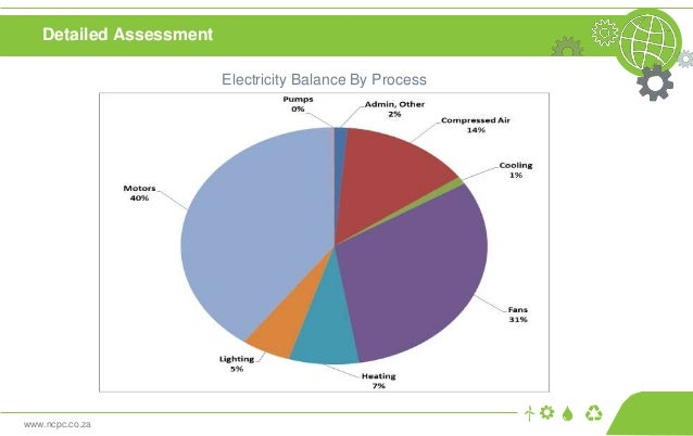 www.ncpc.co.za Detailed Assessment Electricity Balance By Process