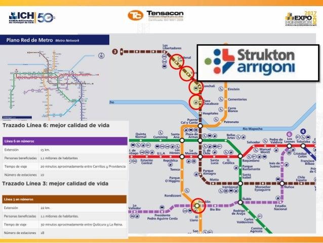 Prefabricados En Linea 3 Y 6 Del Metro De Santiago