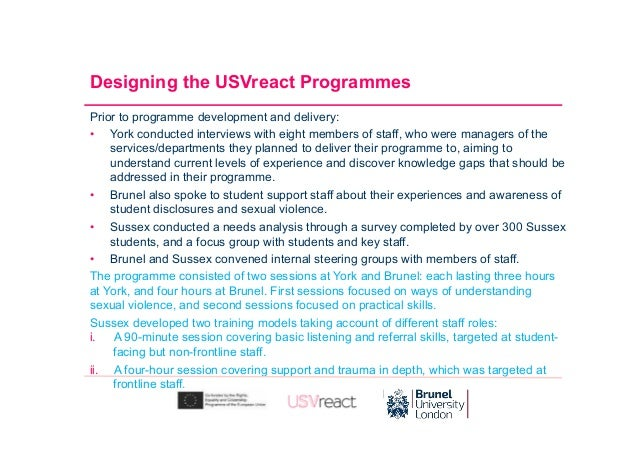 Workshop Sessions: New training ,models for University staff: What worked for us. Slide 3