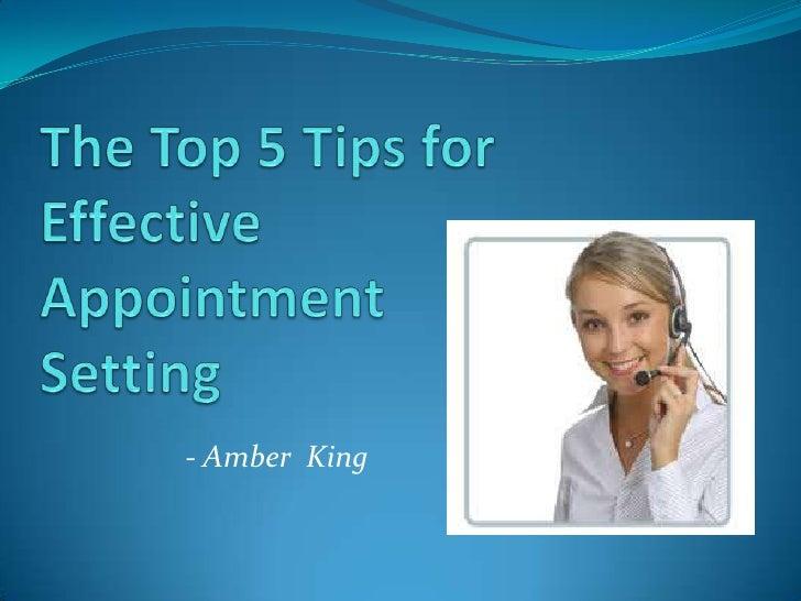 - Amber King