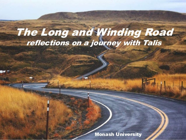 Talis Insight Asia-Pacific 2018 - The long and winding road