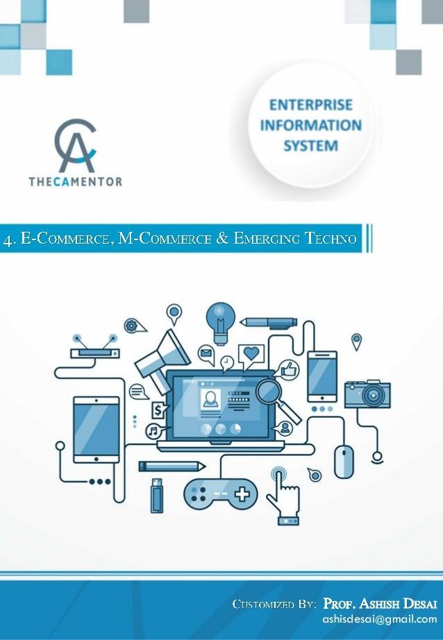 4 e commerce m commerce and emerging technologies 2018 for E commerce mobili