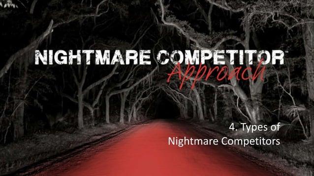 Rocking Business Innovation | 1© NC-Creators 4. Types of Nightmare Competitors