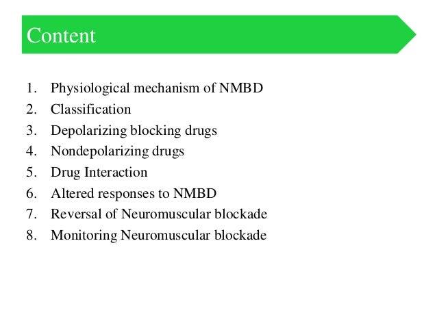 Neuromuscular blockade & Reversal agents & Monitoring   Slide 2