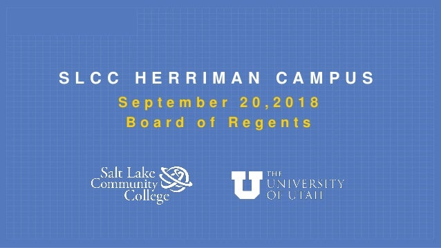 Salt Lake Community College Herriman Campus General Education Build