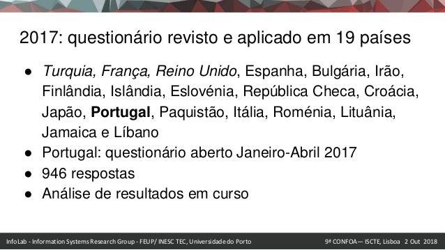 InfoLab - Information Systems Research Group - Faculdade de Engenharia da Universidade do Porto outubro 2015 InfoLab - Inf...
