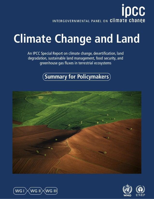 Summary for Policymakers Climate Change and Land An IPCC Special Report on climate change, desertification, land degradati...