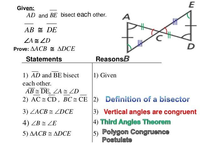 How to write a congruence statement for polygons