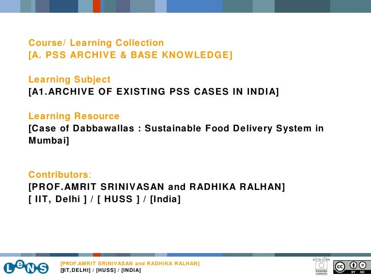 ] Course/ Learning Collection [A. PSS ARCHIVE & BASE KNOWLEDGE] Learning Subject [A1.ARCHIVE OF EXISTING PSS CASES IN INDI...