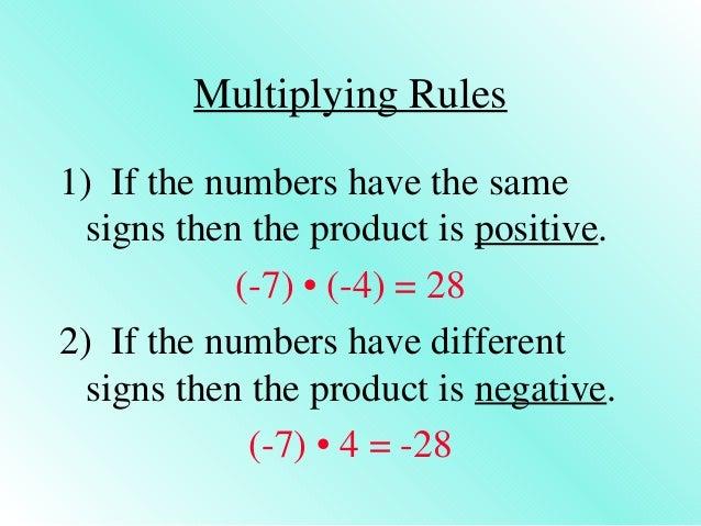 4 1 multiplying rational numbers examples Slide 2