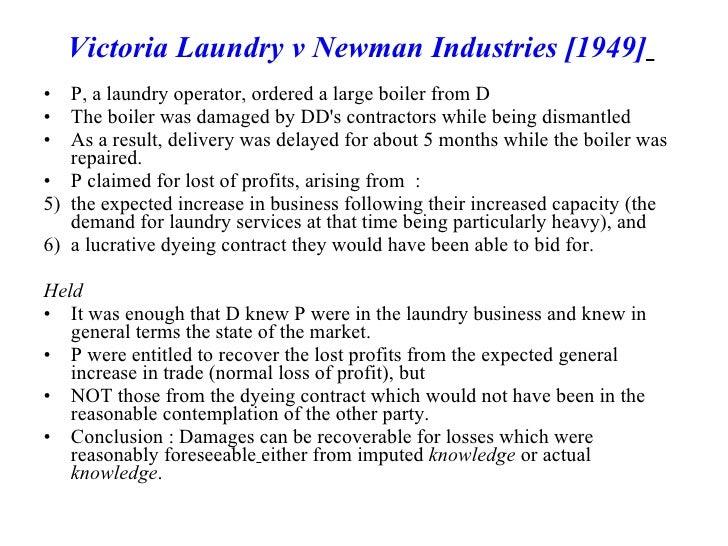 victoria laundry v newman industries pdf