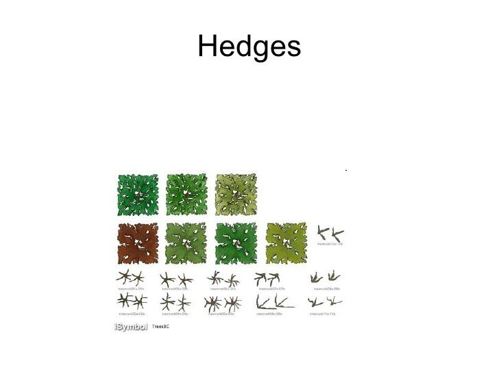 Landscape design symbols for Garden design channel 4