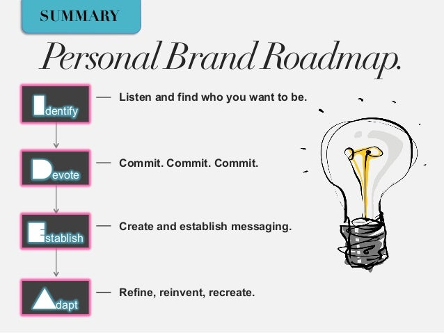 The 4 P's of Personal Branding - RELOADED edition