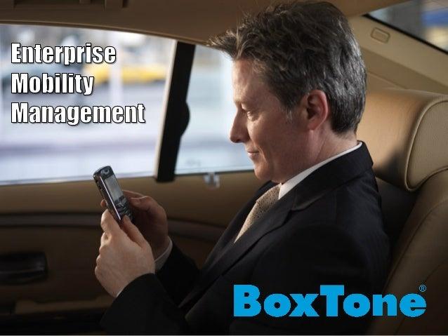 Copyright 2010 BoxTone, Inc