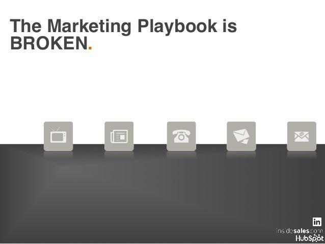 The Marketing Playbook is BROKEN.!
