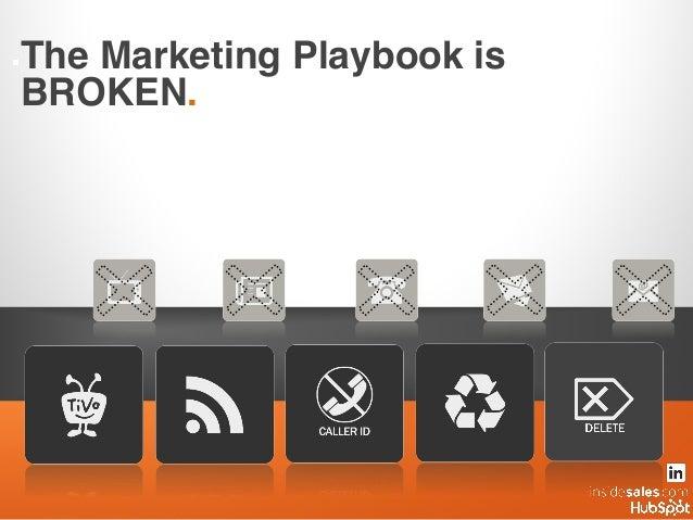 ..The Marketing Playbook is BROKEN.!