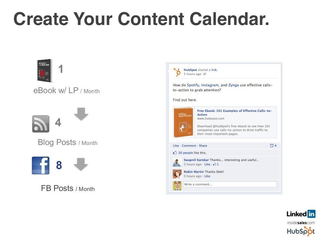 create your content calendar 4