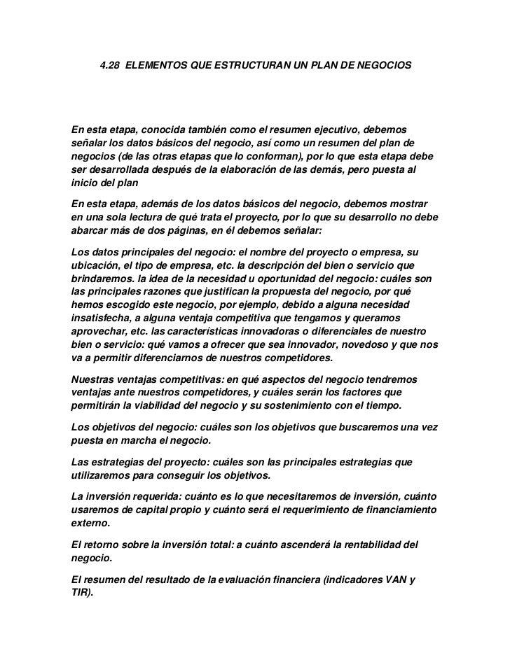 Erfreut Resumn Idee De Negocio Fotos - Dokumentationsvorlage ...