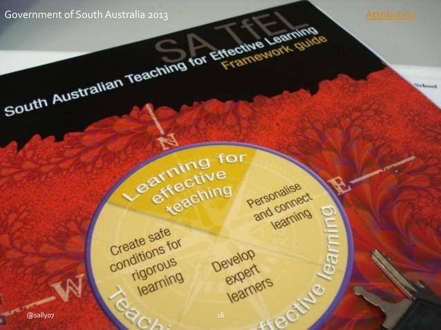 @sally07 16 Government of South Australia 2013 Attribution