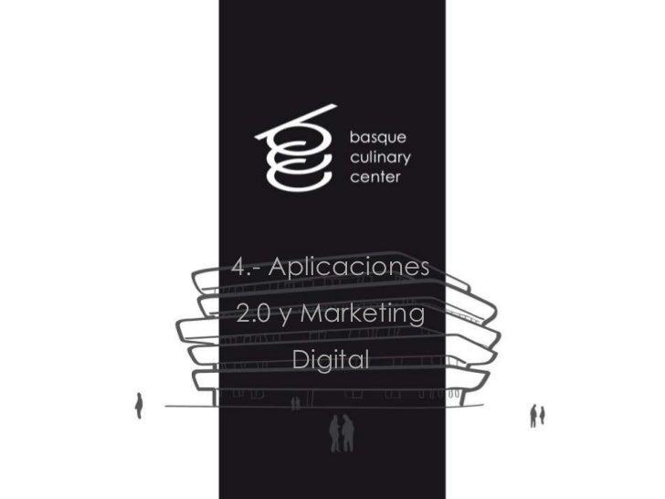 4.- Aplicaciones2.0 y Marketing    Digital