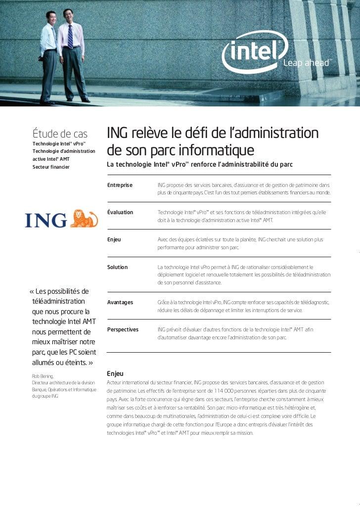 1959_CS_4P_ING_FR.qxd         12/12/2006          10:10    Page 1          Étude de cas          Technologie Intel® vPro™ ...