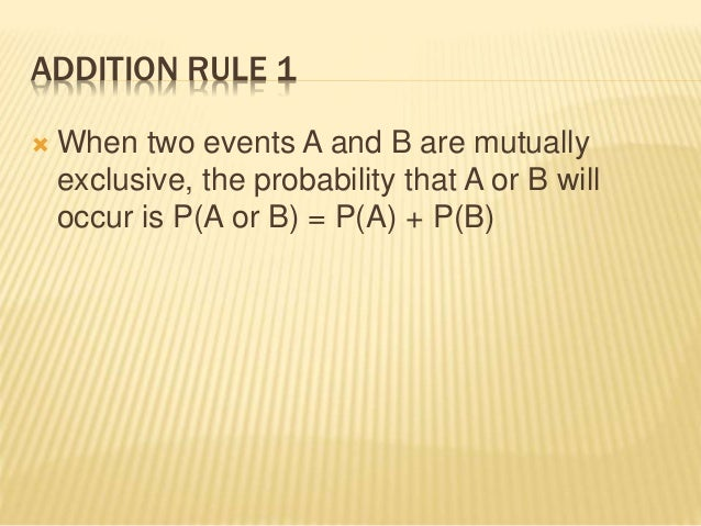 4 3 Addition Rules for Probability