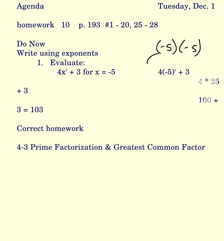 Do my factorization homework
