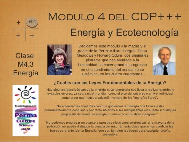 +   PDC            Modulo 4 del CDP++++   +                      Energía y Ecotecnología                                 D...