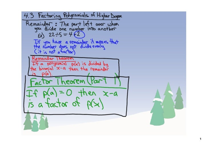 how to solve polynomials of degree 3