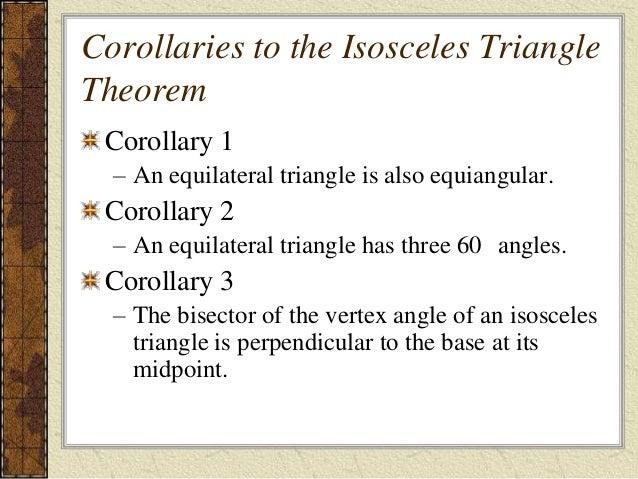 4 4 Isosceles Triangle