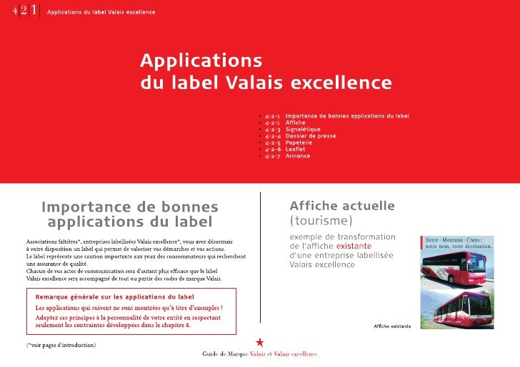 Le label • Positionnement : bas de page.