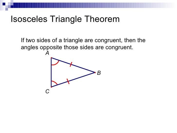 TechMathI - 4.4 - Isosceles and Right Triangle Theorems