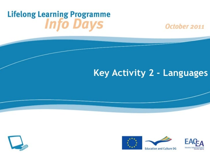 Key Activity 2 - Languages